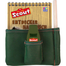 accessoireset Scout groen/bruin 4-delig