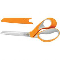 stofschaar soft grip 23cm oranje