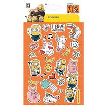 stickervel Minions Flat junior 19 x 11 cm papier oranje