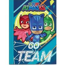 elastonmap PJ masks junior 25 x 35 papier blauw