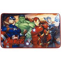 vloerkleed Avengers 45 x 75 cm polyester rood