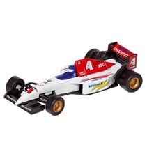 Metalen Auto: Formule 1 Racer Wit 10,7 cm