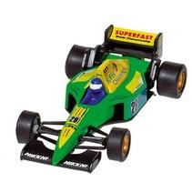 Metalen Auto: Formule 1 Racer Groen 10,7 cm