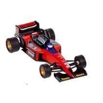 Metalen Auto: Formule 1 Racer Rood 10,7 cm