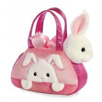 knuffel Fancy Pal konijn 20,5 cm roze/wit