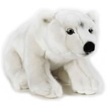 knuffelijsbeer junior 35 cm pluche wit