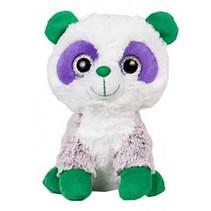 knuffeldier Animal Party junior 25 cm wit/groen