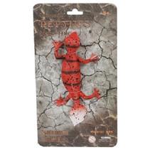 elastisch reptiel Stretch 20 cm rood