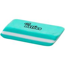 gum junior 5,5 x 2 x 1 cm rubber turquoise