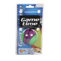 bungeebal 6 cm paars/groen