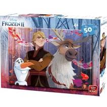 legpuzzel Disney Frozen II junior 50 stukjes (A)