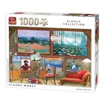 Legpuzzel Claude Monet 1000 Stukjes