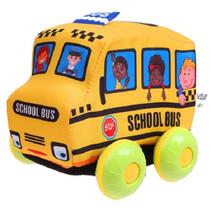 schoolbus junior 11 x 8 cm katoen geel
