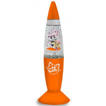 lavalamp Shake and Shine junior 18 cm oranje