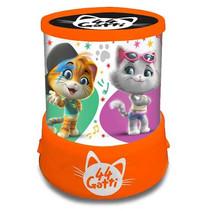 projectorlamp Doll led junior 12,5 x 11,5 cm oranje
