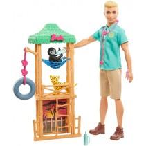 tienerpopset Ken dierenarts 30 cm accessoires