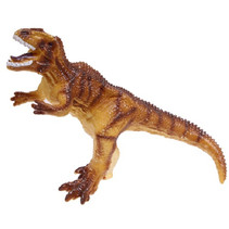dinosaurus Tyrannosaurus jongens 16 cm vinyl bruin