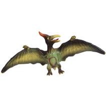 dinosaurus Pterodactylus jongens 16 cm vinyl groen