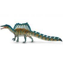 speelfiguur spinosaurus 23 x 8 x 5 cm blauw/groen