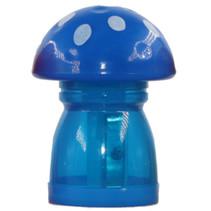 gum en puntenslijper junior 4,5 x 6 cm blauw/wit