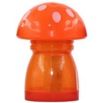 gum en puntenslijper junior 4,5 x 6 cm oranje/wit