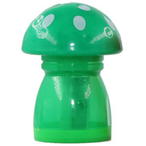 gum en puntenslijper junior 4,4 x 4,5 x 6 cm groen/wit
