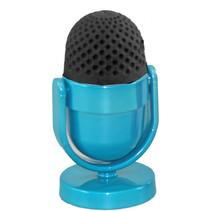 gum en puntenslijper Cool Mic junior metaal blauw