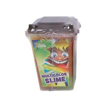 slijm vuilniscontainer junior 7 x 7 x 9 cm grijs