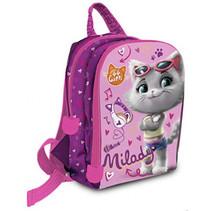 rugzak 44 Cats Milady meisjes 32 cm polyester roze