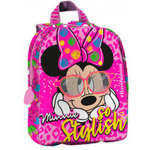 rugzak Minnie So Stylish meisjes 5 liter polyester roze