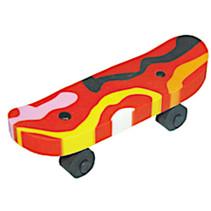 gum Skateboard junior rubber rood/zwart
