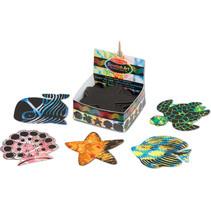 kraskaart Scratch Art - Ocean zwart 126-delig