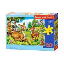 legpuzzel Dear little deer 60 stukjes