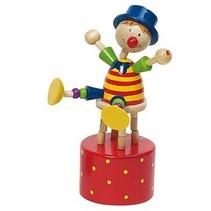 Drukfiguren Clown Blauwe Muts