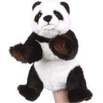 handpop junior 53 x 27 cm zwart/wit