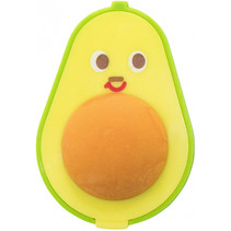 gum en puntenslijper Avocado 5,9 x 4,2 x 3,1 cm groen