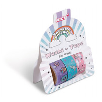 washi-tape Theodor & Friends 4 cm papier 3 stuks