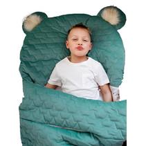 slaapzak Dream Catcher 170 x 75 cm katoen groen