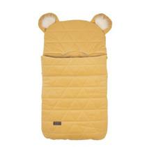 slaapzak Dream Catcher junior 80 cm katoen geel