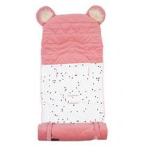 slaapzak Dream Catcher junior 80 cm katoen roze