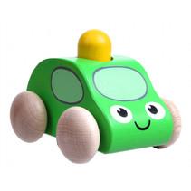 speelgoedauto Army 72 x 70 x 60 mm hout groen