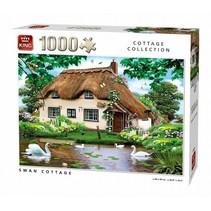 legpuzzel Swan Cottage 1000 stukjes