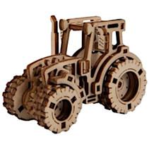modelbouwset Superfast 8 cm hout goud 60-delig