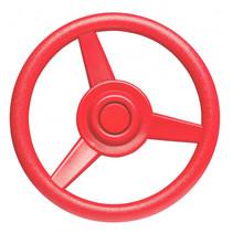 stuurwiel voor speelhuisje 30 cm rood