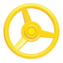 stuurwiel voor speelhuisje 30 cm geel