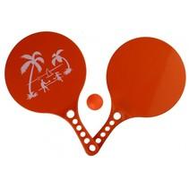 beachball-set Beach Fun 3-delig rood