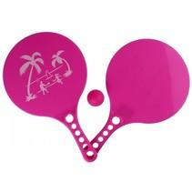 beachball-set Beach Fun 3-delig roze