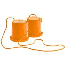 loopklossen oranje 18 cm