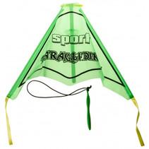 vlieger junior 45 cm polypropyleen groen 2-delig