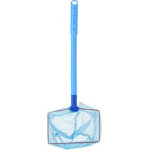 visnet junior 54,5 cm polyester blauw